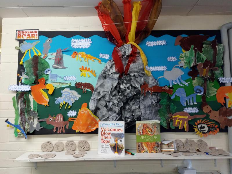 Dinosaur Detectives IEYC topic