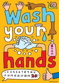 Remind Children of Hand Washing
