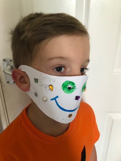 Excellent mask Oliver