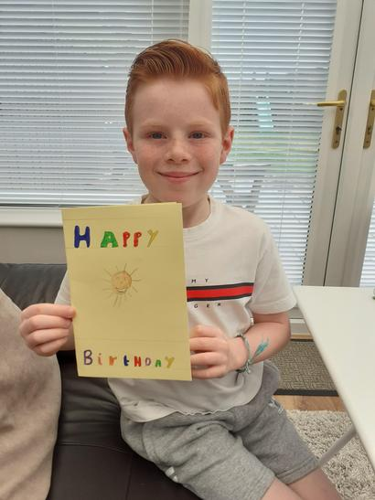 Lovely card here Harry