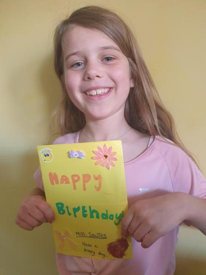 A lovely card Isla