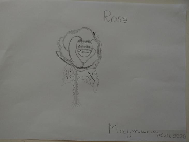 A fabulous sketch. Well done Maymuna!