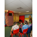 We all really enjoyed the Punch and Judy show.