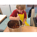 Making a mexican chilli