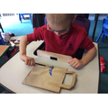 Making our picnic bags