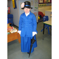 Guess who dropped in to see us on World Book Day?