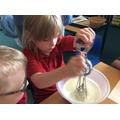 Making Ice cream!