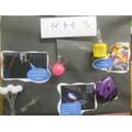 Class 2 made a sensory poster