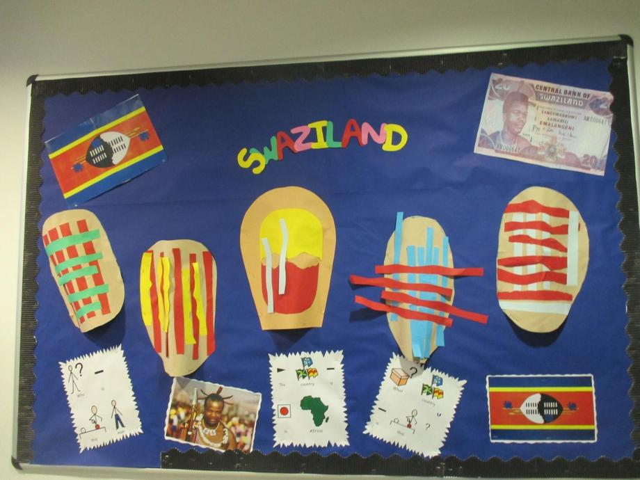 C3's Swaziland display