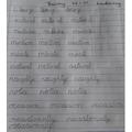 Gorgeous Handwriting