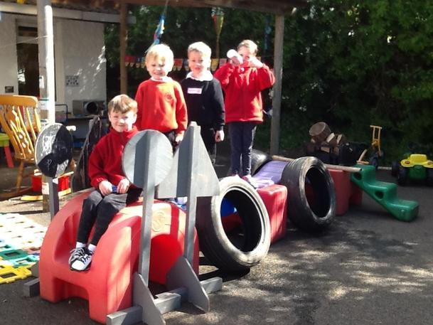 We made a car! Great Team work!