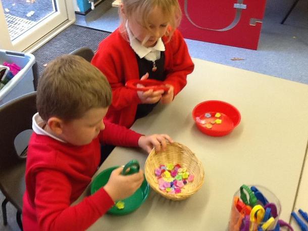 Sorting activity - Maths
