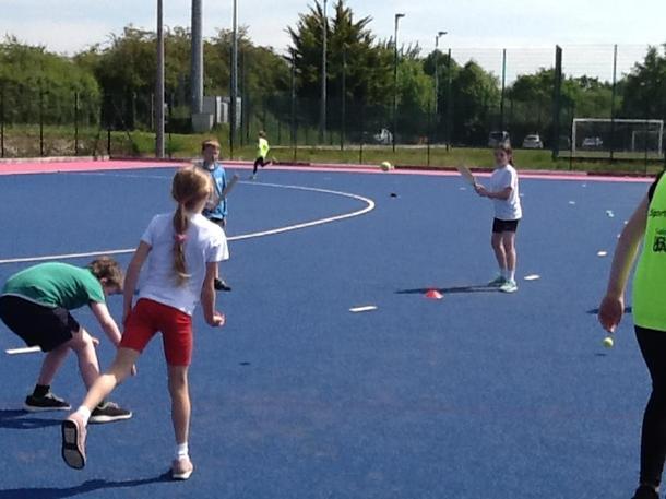 Rounders practice