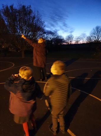 Looking for the International space station