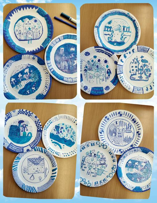 Final products - Willow Plates