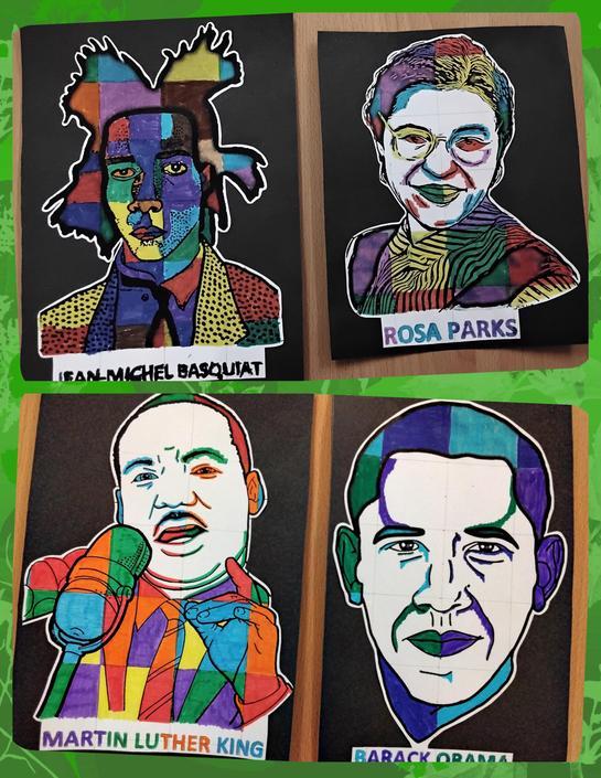 Black History month - Pop Art