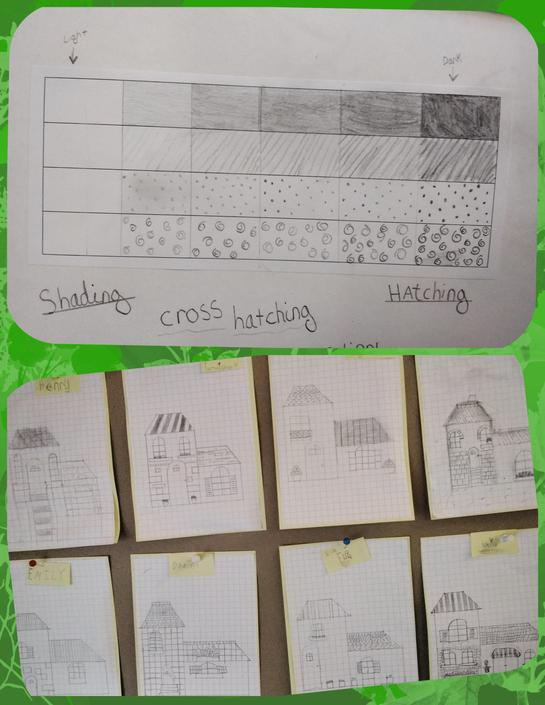 Learning about shading our Art