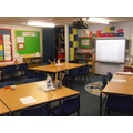 A classroom in lower Key Stage 2.