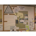 A working wall for Literacy.