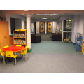 Open area into KS1 and EYFS.