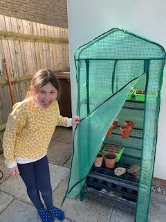 Planting seeds!
