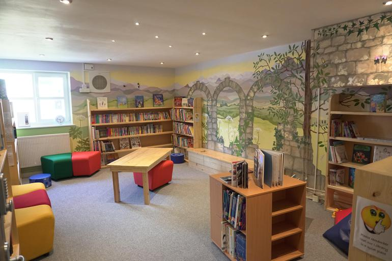 Our enchanting library
