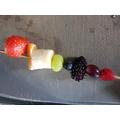 Healthy Fruit Kebab