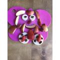 A Fruit dog, yum, yum!