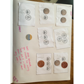 Counting coins and ordering