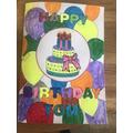 A colourful Birthday Card