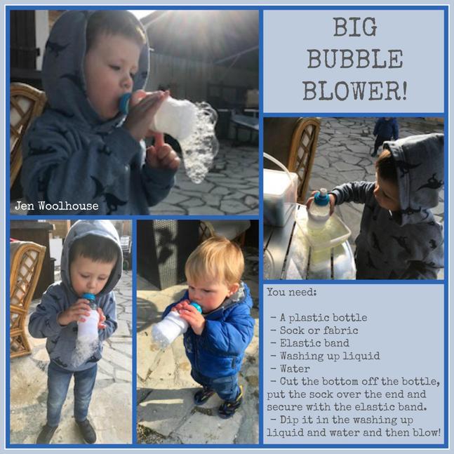 Big bubble blower