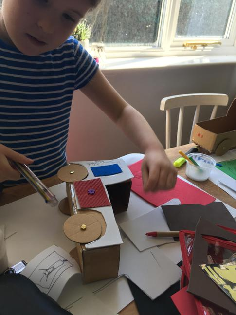 Recycled model making