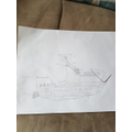 Kyle's amazing pirate ship. Incredible detail!