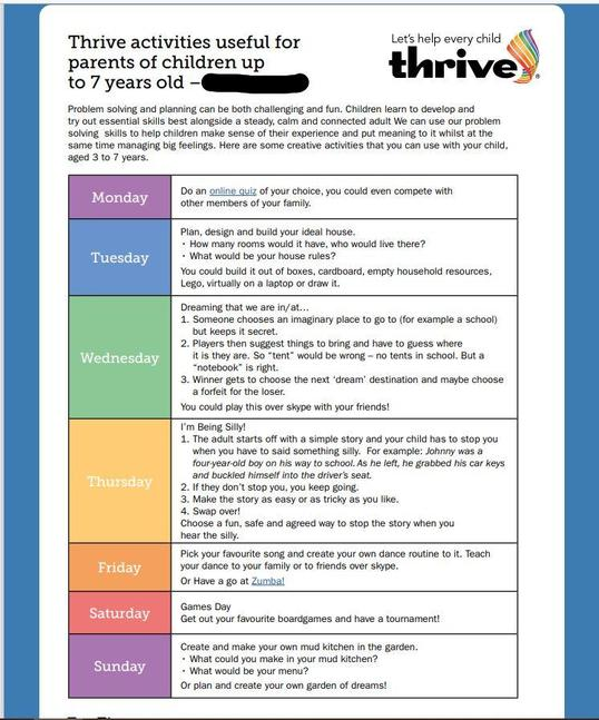 Thrive up to 7 years