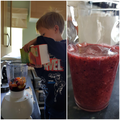 Making smoothies