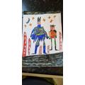 Benjamin's artwork