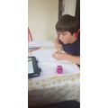 Working hard - such concentration!