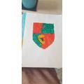 Benjamin's coat of arms.