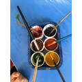 Look at the colours we made