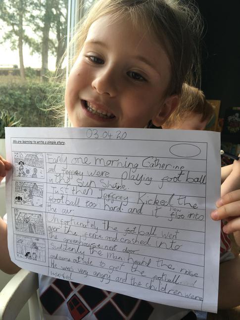 Wonderful story writing