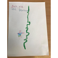 A cover for Jack and the beanstalk