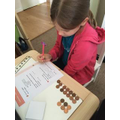 Using coins to calculate