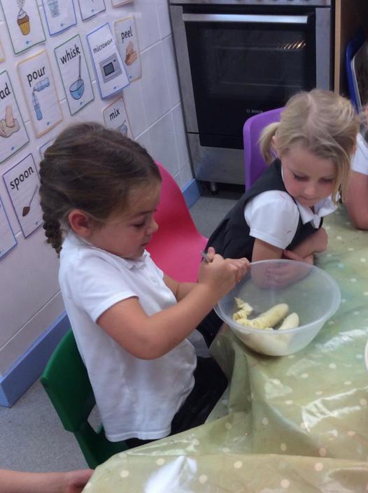 Baking Banana Muffins