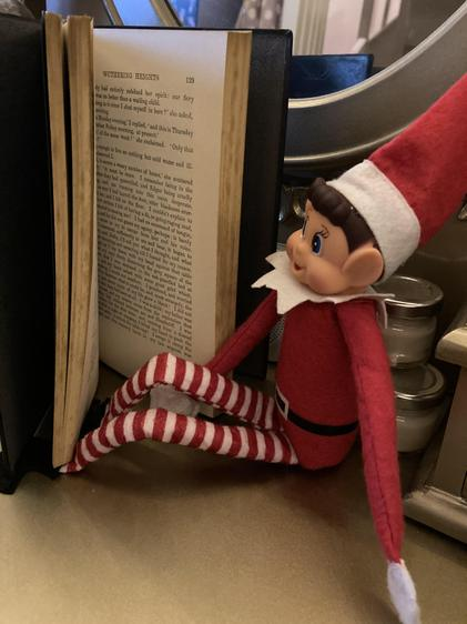 Ernie the elf enjoys a good classic!