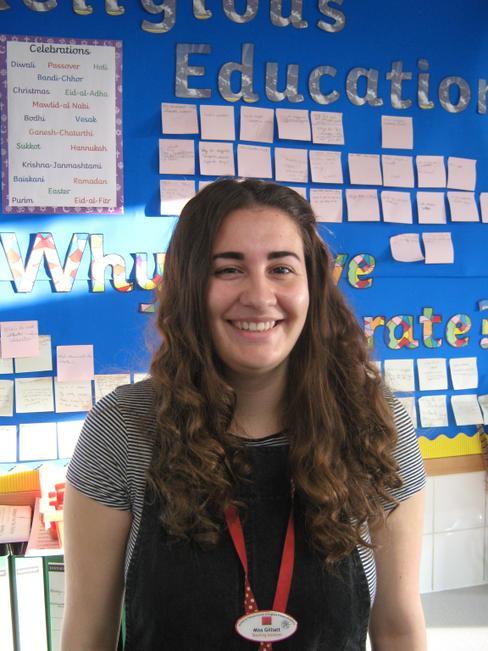 Teaching Assistant - Miss Grace Gilliatt