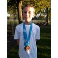 Ollie Mills - B Race GOLD!