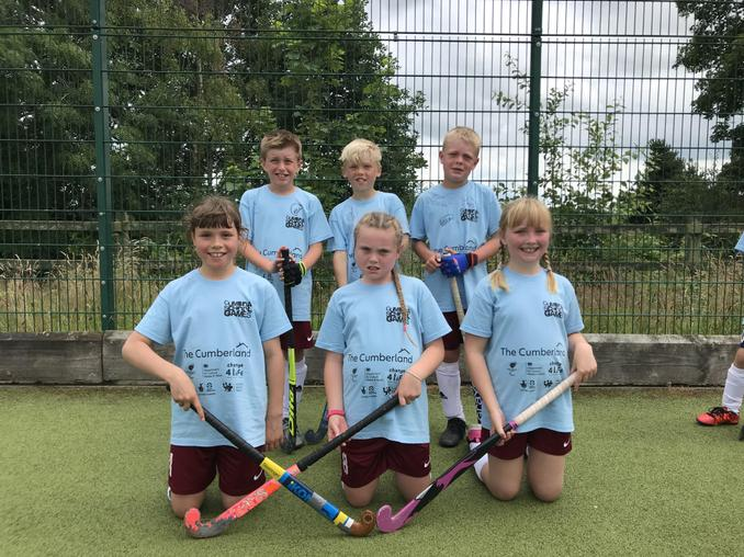 Quicksticks Hockey Runners up.