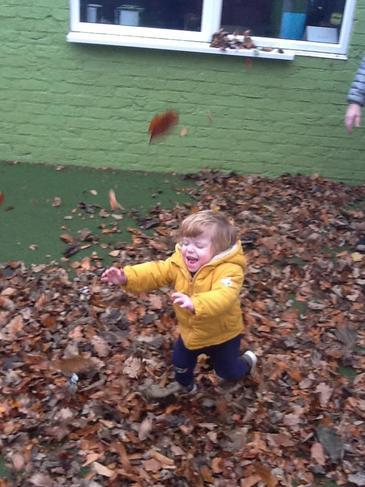 Autumn sensory fun!