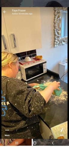 Faye baking