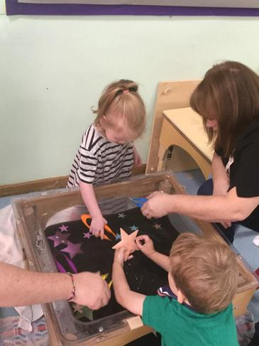Joint attention and child initiated learning